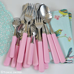 Pink Cutlery 2