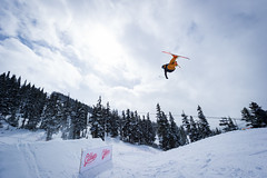 The AFP / Gibbon's Life slopestyle and big air in the Blackcomb Terrain Park