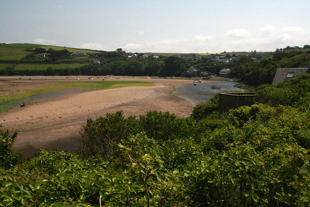 The Avon estuary at Bantham