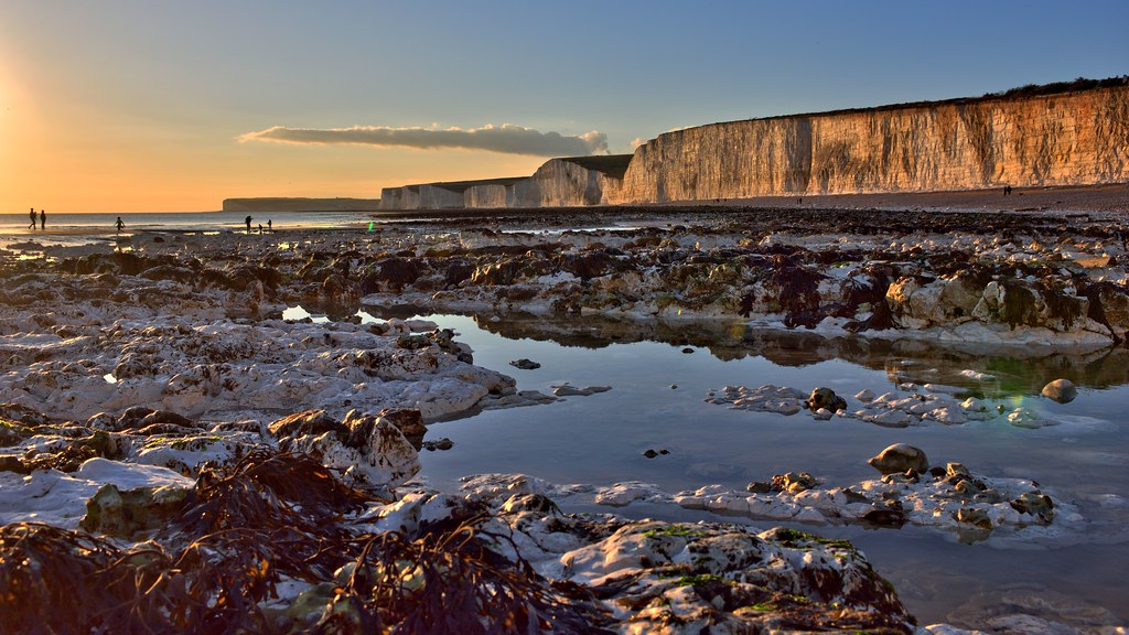 The Beach at  Birling Gap (Explored)
