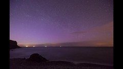 VIDEO: 'White Beach Aurora' - Llangoed, Anglesey