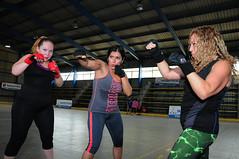 Frenéticos beats del Body Combat hacen vibrar al sector de Forestal