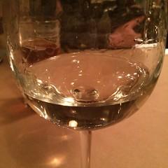Drinking a glass of @NotaryPublicWine #cheninblanc @emberrestaurant because I'm a #fricken #NotaryPublic! Lol @emberwoodfire #hilarious