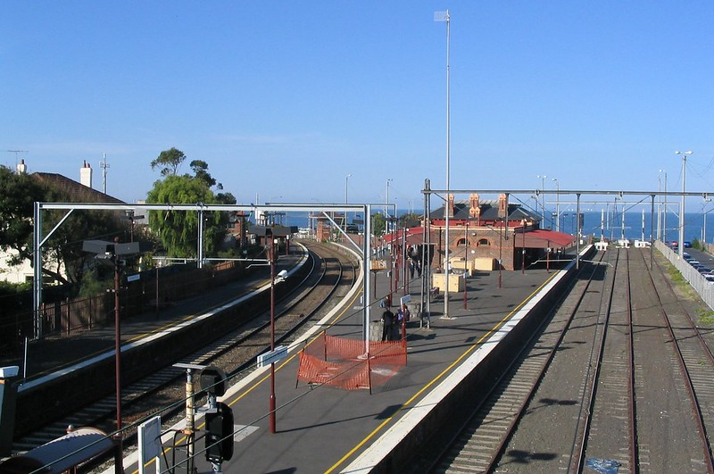 Brighton Beach station, April 2005