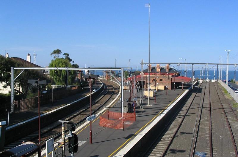 Brighton Beach station, April 2005