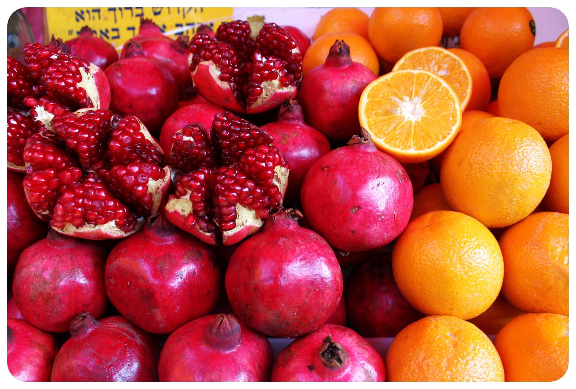 tel aviv carmel market fruit