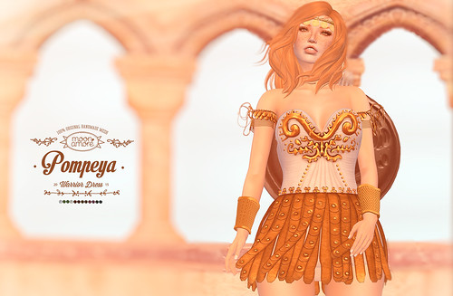 :Moon Amore: Pompeya Dress