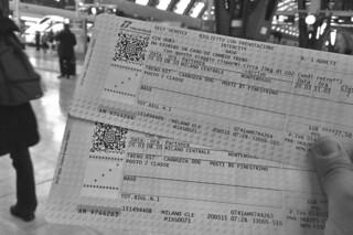 Milan - Tickets to Cinque Terre