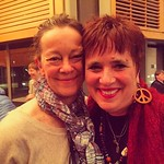 I got to meet and be completely inspired by Eve Ensler last night. If I had any doubts about my work in the world, they are dispelled by this brave honest woman. Look up #onebillionrising and check out The Vagina Monologues. And hug your people. Love is o