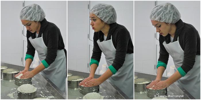 27 - Невероятные приключения москвичек в Каштелу Бранку - quinta - мастер-класс по приготовлению сыра (традиционного португальского)