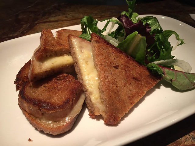 Shelburne Farm House grilled cheddar cheese - Farallon