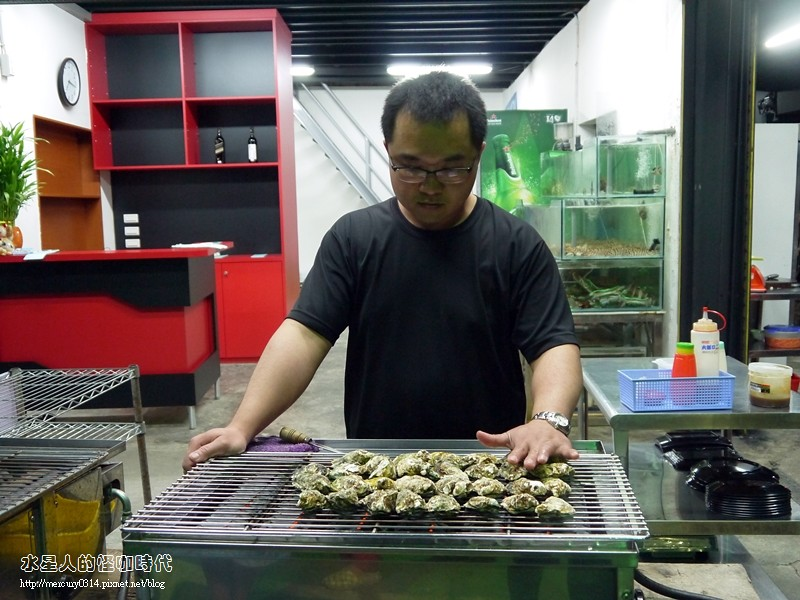 17368461501 f34ca2966a b - 熱血採訪。台中龍井【第一青海鮮燒物】鮮蚵、風螺、蛤蜊、龍蝦、大沙母一次滿足,