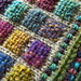 Woven Patches on Stockinette by Knittermobile