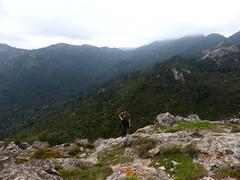 Arrivée au sommet de Punta d u Castellacciu