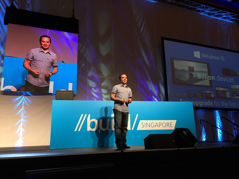 Microsoft Build Singapore 2015 Main Keynote Speaker - Giorgio Sardo