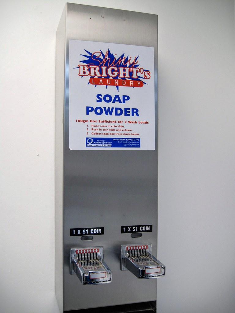 但,洗衣粉要錢XDD 還好從台灣帶了一包洗衣粉來,因為接下來的幾間YHA沒有這邊方便就是了XDD