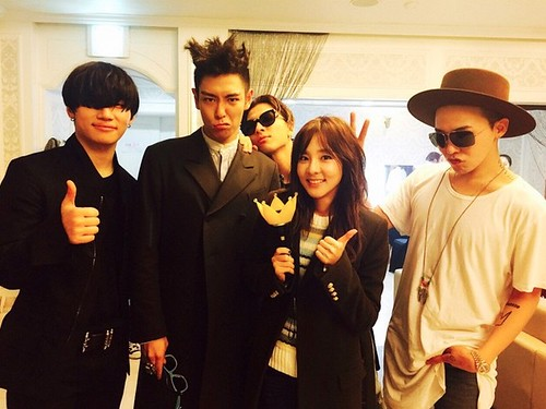 2NE1s DARA Backstage with BIGBANG Day 2 2015-04-26 Seoul 001