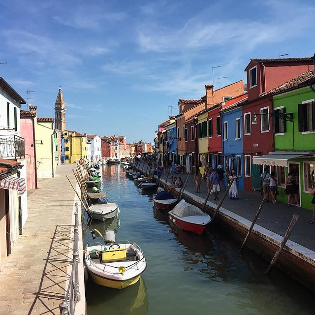 Burano. It's kinda pretty here.