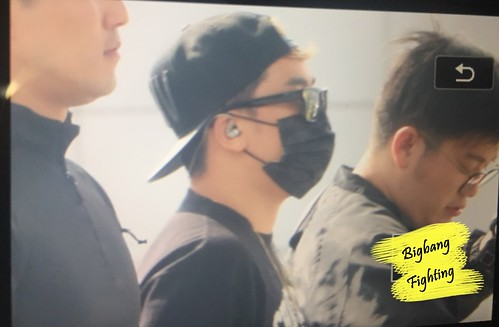 Big Bang - Incheon Airport - 24sep2015 - BigbangFighting - 12