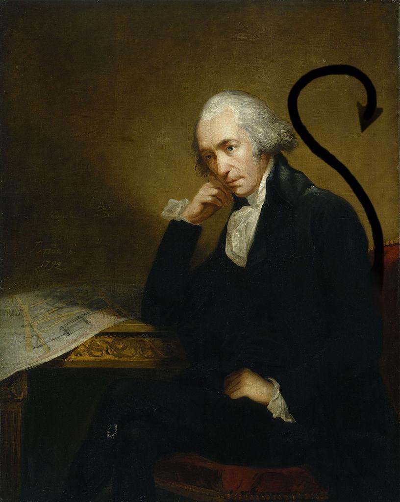 James Watt, Scottish inventor and mechanical engineer