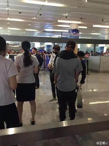BIGBANG GDTOPDAE arrival Hangzhou 2015-08-25 101