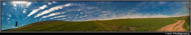 Πανόραμα απο χρώματα και σχήματα του ουρανού και της γής... - Sky and Land's colors and shapes panorama...
