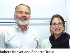 DES Researchers Doctor Robert N. Hoover and Scientist Rebecca Troisi