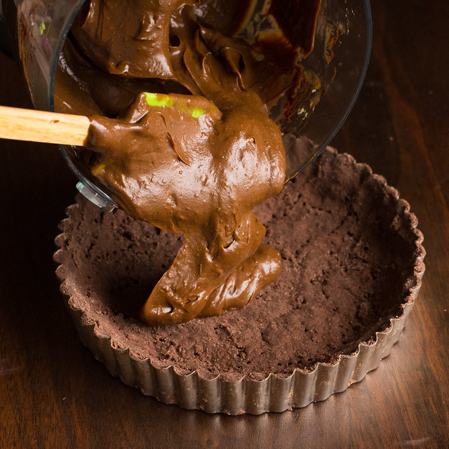 Avocado Chocolate Mousse Tart Filling
