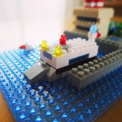 船と波 #ナノブロックアンバサダー