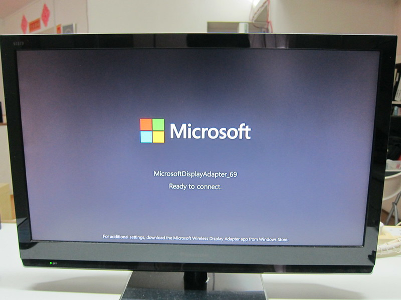 Microsoft Wireless Display Adapter - Switched On