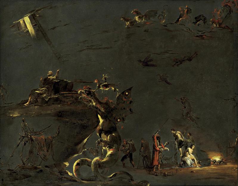 Leonard Bramer - Saint James and Hermoenes The Magician, 17th century