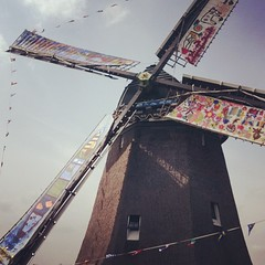 Twiskemolen: relentlessly draining polder water for 40 years! #twiske #twiskemolen #polder #windmill
