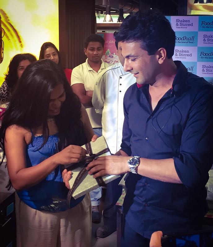 Vikas khannas book launch