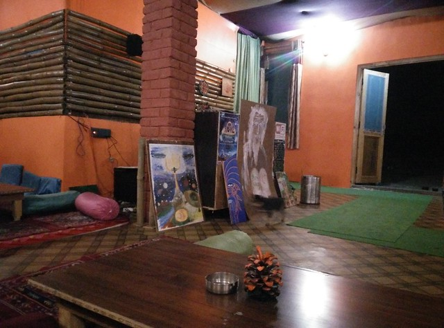 That's the Jim Morrison Cafe described just above. An awesome place to spend time in the evening. Credits - Akshay Maggu