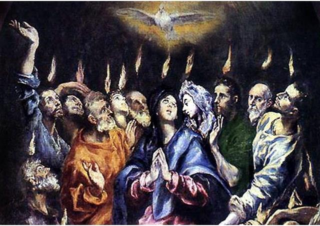 Đức Thánh Cha Chủ Sự Lễ Chúa Thánh Thần Hiện Xuống