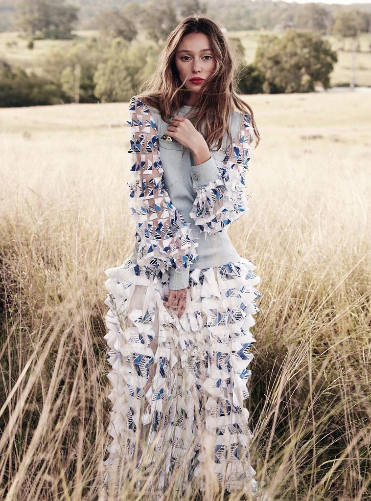 Алисия Дебнем-Кери — Фотосессия для «Vogue» AU 2016 – 6