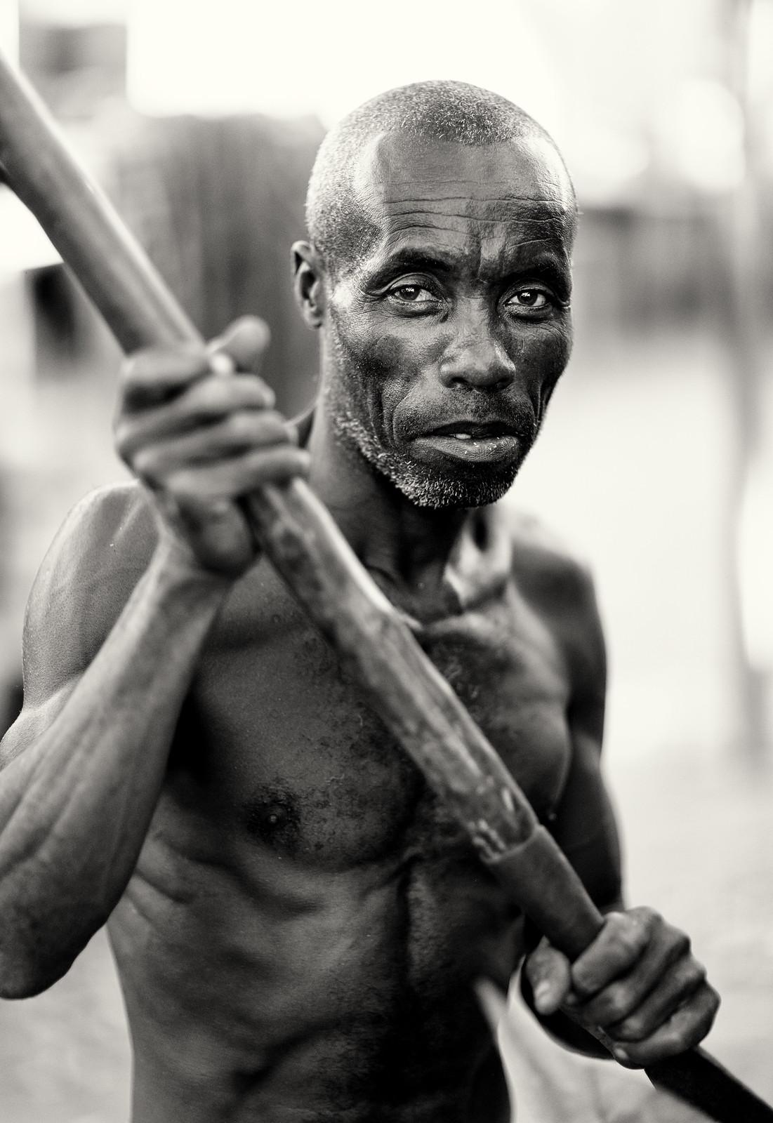 Madagascar, fisherman
