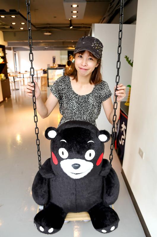 Kuma Sushi 熊本熊主題日本料理【台北敦化】KUMA Sushi 熊本熊的日本料理。小熊的海鮮屋,熊本熊主題餐廳「KUMA Sushi」壽司、生魚片、日式海鮮料理。