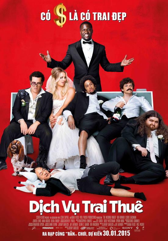Phim Dịch Vụ Trai Thuê - The Wedding Ringer