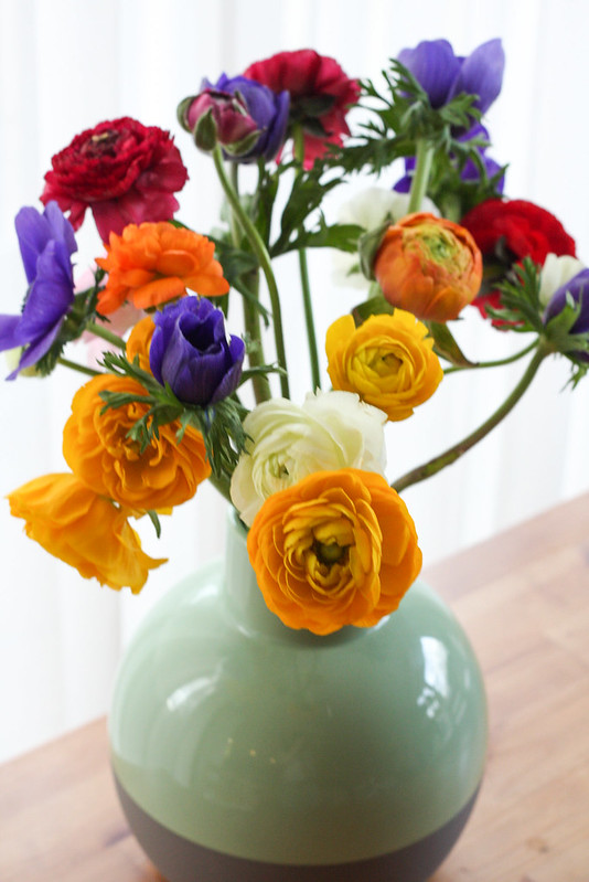 Ranunculus & Anemones
