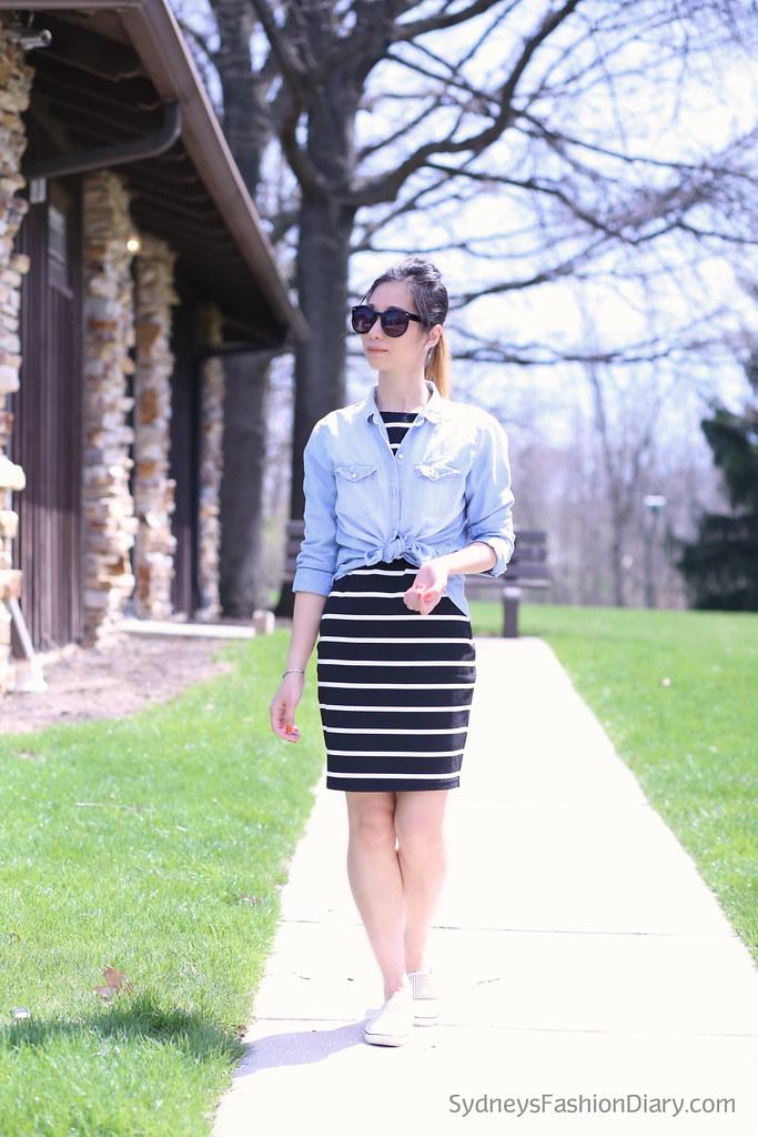 StripedDress_ChambrayShirt