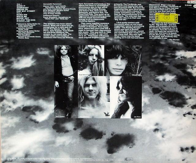 """AEROSMITH S/T SELF-TITLED 12"""" LP VINYL"""
