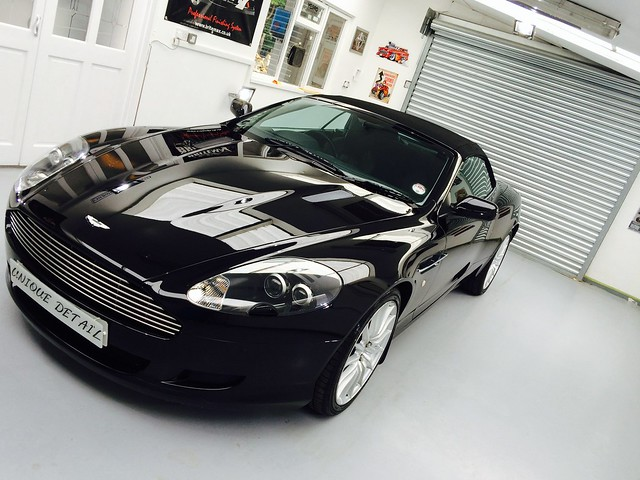 Aston Martin DB9 Enhancement Detail