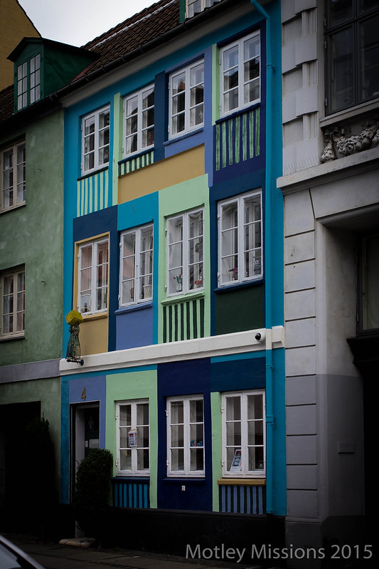 color block building