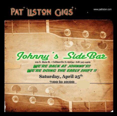 Pat Liston 4-25-15