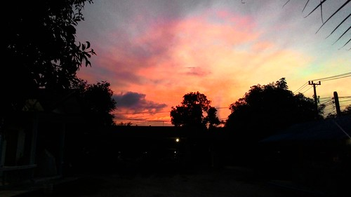 Koh Samui  Pink Sky