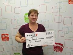 Donna Leuzinger - $10,000 Powerball