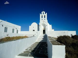 Chrysopigi Monastery, Sifnos, Greece