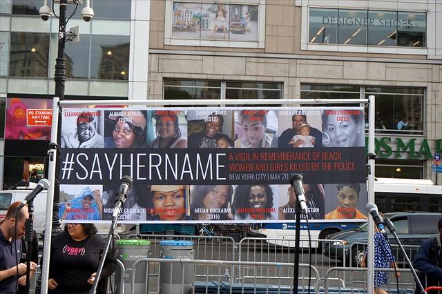 #SayHerName