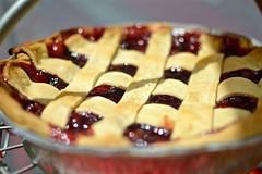 berry(0.0), blueberry pie(0.0), produce(0.0), fruit(0.0), cranberry(0.0), pie(1.0), baking(1.0), blackberry pie(1.0), baked goods(1.0), food(1.0), dish(1.0), dessert(1.0), cherry pie(1.0), cuisine(1.0),